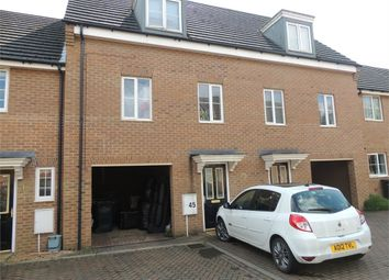 Thumbnail 3 bedroom town house for sale in Coriander Road, Downham Market