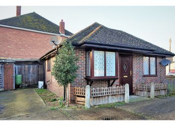 Thumbnail 1 bed detached bungalow for sale in Lee Road, Snodland