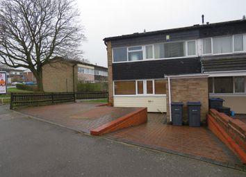 Thumbnail 3 bed end terrace house for sale in Manningford Road, Druids Heath, Birmingham