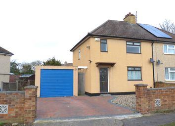 Thumbnail 3 bed semi-detached house for sale in Edward Road, Biggleswade