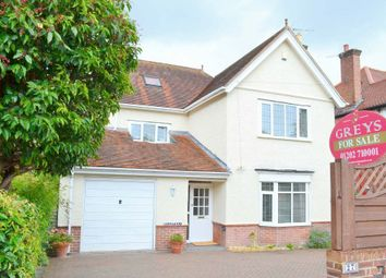 Thumbnail 4 bedroom detached house for sale in Woodside Road, Lower Parkstone, Poole