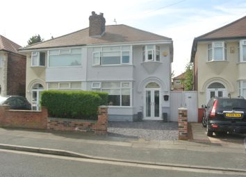 Thumbnail 3 bed semi-detached house for sale in Beechburn Crescent, Huyton, Liverpool
