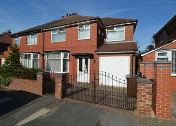 Thumbnail 4 bedroom semi-detached house to rent in Oldfield Road, Prestwich, Manchester