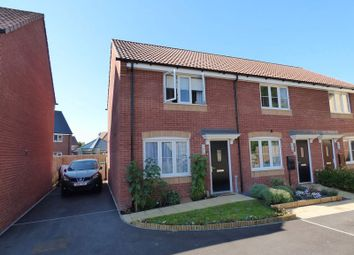 Thumbnail 2 bed end terrace house for sale in Gator Court, West Wick, Weston-Super-Mare