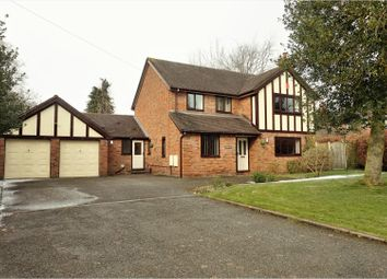 Thumbnail 4 bed detached house for sale in Dobells Road, Northwich