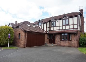 Thumbnail 4 bed detached house for sale in Harvest Close, Moulton, Northwich