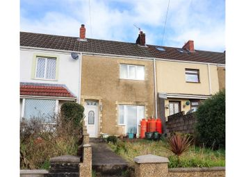 Thumbnail 3 bed terraced house for sale in Seaview Terrace, Bonymaen