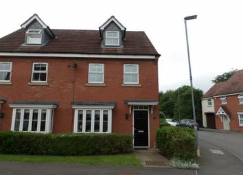 Thumbnail 3 bed semi-detached house for sale in Astley Way, Ashby-De-La-Zouch