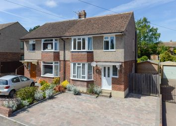 Thumbnail 3 bed semi-detached house to rent in Hillside Avenue, Canterbury