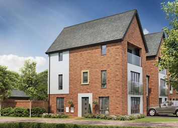 "Thumbnail 5 bedroom town house for sale in ""The Oak "" at Berrington Road, London Road, Hampton"