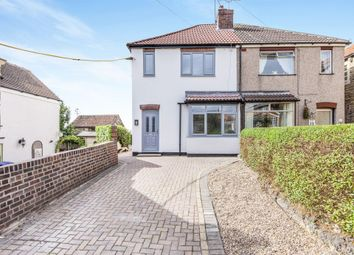 Thumbnail 2 bed semi-detached house for sale in Fox Lane, Barnburgh, Doncaster