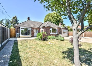 Thumbnail 3 bed detached bungalow for sale in Villa Road, Stanway, Colchester