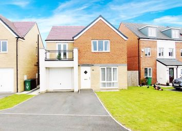Thumbnail 4 bed detached house for sale in Merlin Way, Hartlepool