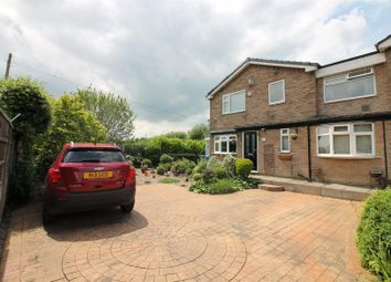 Thumbnail 4 bed link-detached house for sale in Auburn Drive, Urmston, Manchester