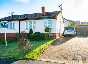 Thumbnail 1 bedroom semi-detached bungalow to rent in Firvale Road, Walton, Chesterfield