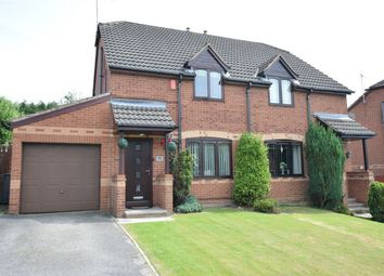 Thumbnail 3 bed semi-detached house for sale in Birchen Holme, South Normanton, Alfreton, Derbyshire