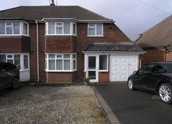 Thumbnail 3 bed semi-detached house for sale in Bassnage Road, Hayley Green, Halesowen