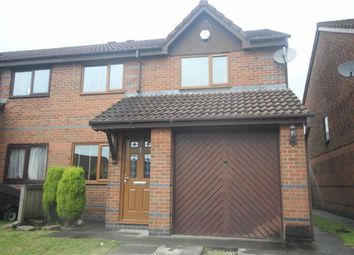 Thumbnail 3 bed semi-detached house to rent in Delph Hill Close, Bolton