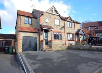 Thumbnail 4 bed semi-detached house for sale in Mullberry Close, Belper