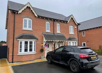 Thumbnail 3 bed semi-detached house for sale in Woodstone Lane, Leicestershire, Ravenstone