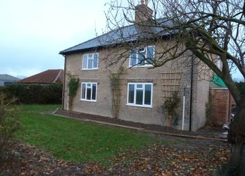 Thumbnail 3 bed semi-detached house to rent in Sutton Road, Markby, Alford