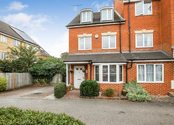 Thumbnail 4 bed end terrace house for sale in Lindler Court, Leighton Buzzard