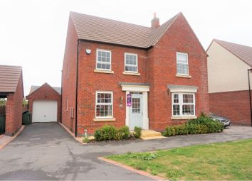 4 bed detached house for sale in Wright Close, Whetstone LE8