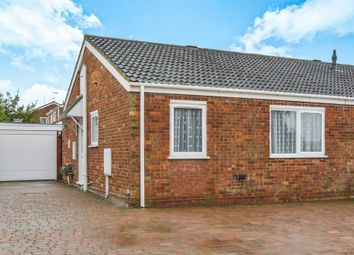 Thumbnail 2 bedroom semi-detached bungalow for sale in Eastfield Drive, Hanslope, Milton Keynes