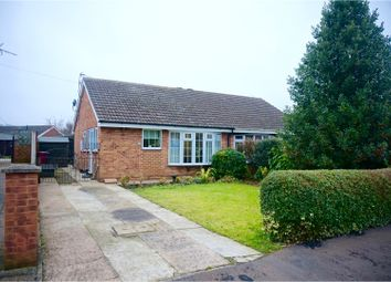 Thumbnail 2 bed bungalow for sale in Town Hill Drive, Brigg