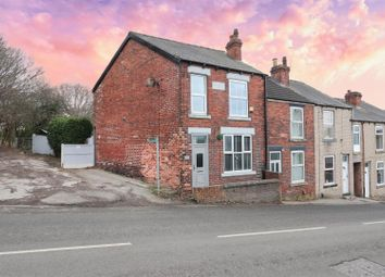 Station Road, Brimington, Chesterfield S43. 3 bed end terrace house for sale