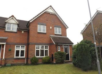 Thumbnail 3 bed semi-detached house for sale in Hawarde Close, Newton-Le-Willows, Merseyside