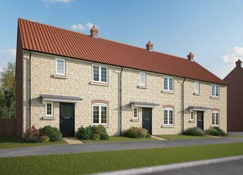 "Thumbnail 3 bed terraced house for sale in ""The Elliot"" at Lincoln Road, Navenby, Lincoln"