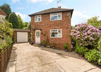 Thumbnail 3 bedroom detached house for sale in Park Close, Grayswood, Haslemere, Surrey