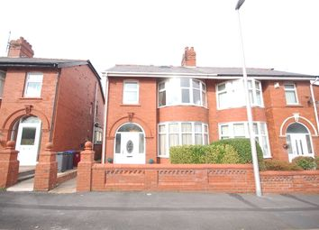 Thumbnail 4 bed semi-detached house for sale in Cavendish Road, Blackpool, Lancashire