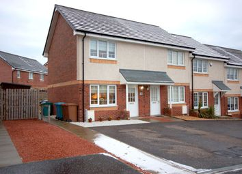Thumbnail 2 bed end terrace house for sale in Wilkie Drive, Holytown, Motherwell