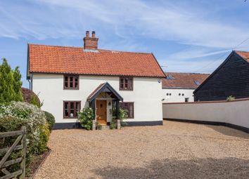 Thumbnail 4 bed farmhouse for sale in Attleborough Road, Caston, Attleborough