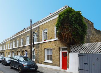 Thumbnail 2 bed end terrace house to rent in Wellington Row, London