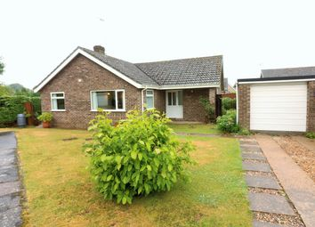 Thumbnail 3 bed detached bungalow for sale in Castell Road, Dereham