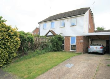 2 bed semi-detached house to rent in Quantock Drive, Ashford Kent TN24