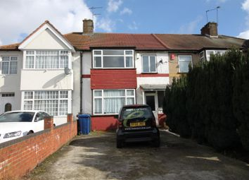 Thumbnail 3 bed terraced house for sale in Kings Avenue, Greenford