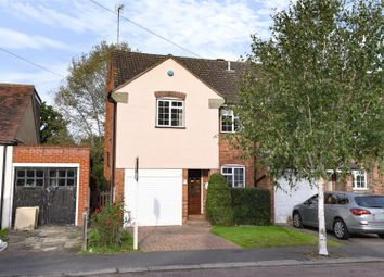 Thumbnail 3 bed end terrace house for sale in The Crescent, Loughton, Essex