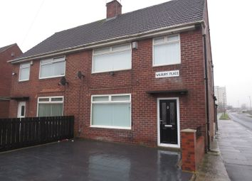 Thumbnail 3 bed semi-detached house to rent in Wilbury Place, Newcastle Upon Tyne, Tyne And Wear.