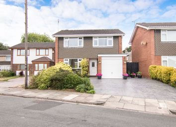 Thumbnail 4 bed detached house for sale in Birch Close, Prenton