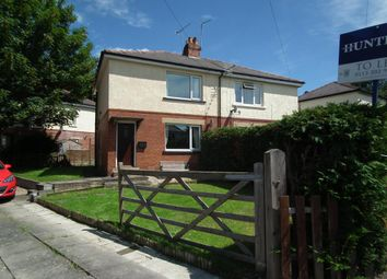 Thumbnail 2 bed semi-detached house to rent in Henshaw Avenue, Yeadon, Leeds