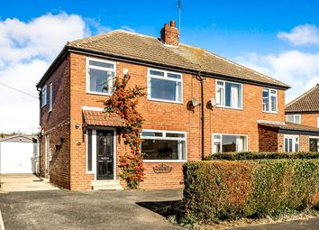 Thumbnail 3 bed semi-detached house to rent in Lyndhurst Close, Scholes, Leeds