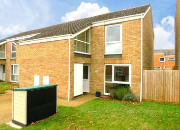 Thumbnail 2 bed end terrace house to rent in Chestnut Way, RAF Lakenheath, Brandon