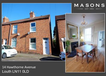 Thumbnail 2 bed end terrace house for sale in Hawthorne Avenue, Louth