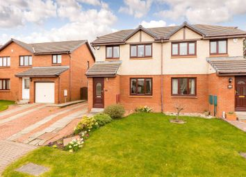 Thumbnail 3 bed semi-detached house for sale in New Star Bank, Newtongrange, Dalkeith