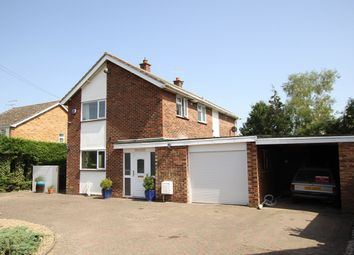 Thumbnail 4 bed detached house for sale in Hall Lane, Somersham, Ipswich, Suffolk