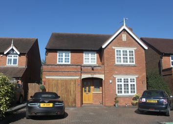 Thumbnail 4 bed detached house for sale in Lapworth Oaks, Lapworth, Solihull